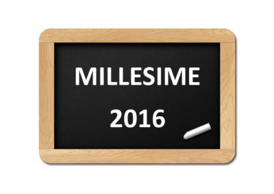 Millésime 2016